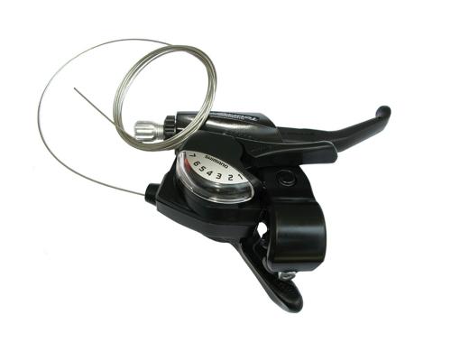 Shimano шифтер с тормозной ручкой, правый ST-EF 40-7R
