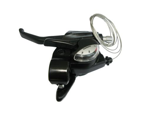Shimano шифтер з гальмівною ручкою, лівий ST-EF 40-L
